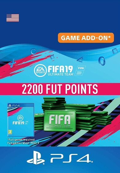 FIFA 19 - 2200 FUT Points (PS4) PSN Key UNITED STATES