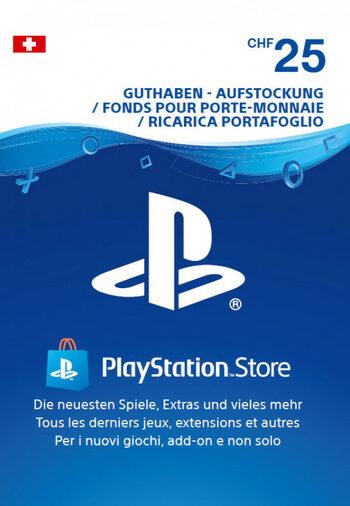 Playstation Network Card 25 CHF (CH) PSN Key SWITZERLAND