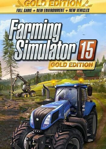 Farming Simulator 15  - Gold Edition Official Website Key GLOBAL
