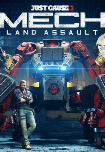 Just Cause 3: Mech Land Assault (DLC) Steam Key GLOBAL