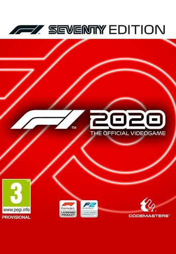 F1 2020 Seventy Edition Steam Klucz GLOBAL