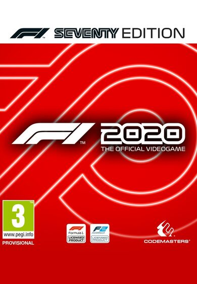 F1 2020 Seventy Edition Steam Key GLOBAL