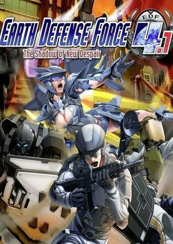 EARTH DEFENSE FORCE 4.1:  Gigantus DCC-Zero Marking (DLC) Steam Key GLOBAL