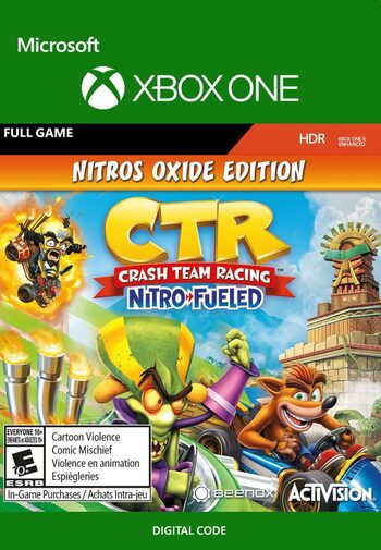 CTR Nitro-Fueled - Nitros Oxide Edition Xbox One Key US