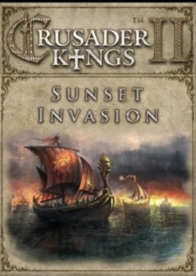 Crusader Kings II - Sunset Invasion (DLC) Steam Key GLOBAL