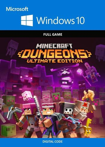 Minecraft Dungeons Ultimate Edition - Windows 10 Store Key GLOBAL