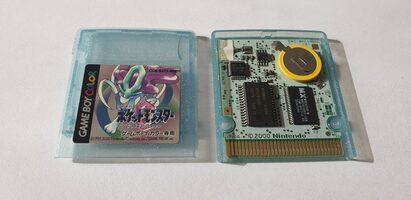 Pokémon Crystal Version Game Boy Color