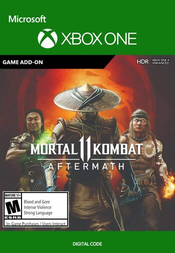 Mortal Kombat 11: Aftermath (DLC) (Xbox One) Xbox Live Key UNITED STATES