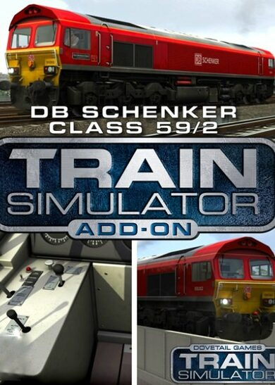 Train Simulator - DB Schenker Class 592 Loco Add-On (DLC) Steam Key EUROPE