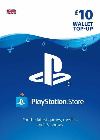 PlayStation Network Card 10 GBP (UK) PSN Key UNITED KINGDOM