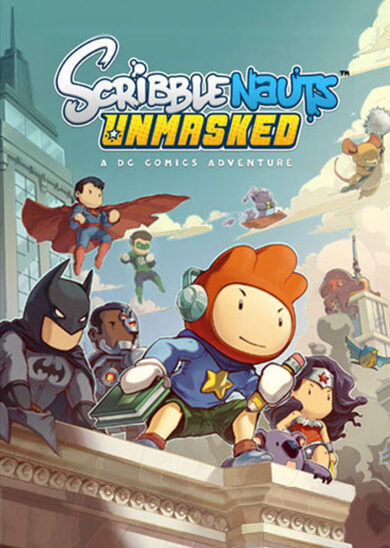 Scribblenauts Unmasked: A DC Comics Adventure Steam Key GLOBAL фото