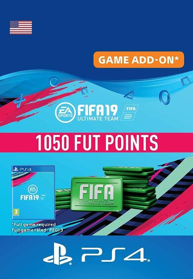 FIFA 19 - 1050 FUT Points (PS4) PSN Key UNITED STATES