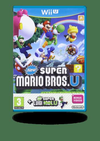 New Super Mario Bros. U + New Super Luigi. U Wii U