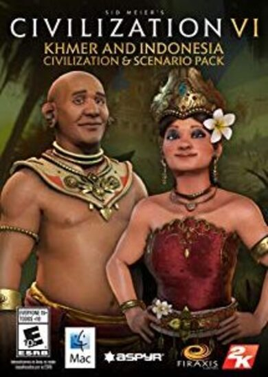 Sid Meier's Civilization VI - Khmer and Indonesia Civilization & Scenario Pack (DLC) Steam Key GLOBAL