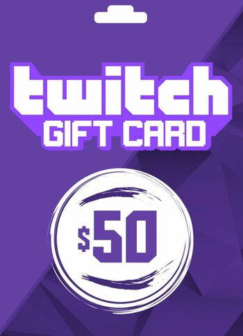 Twitch Gift Card 50 USD Key UNITED STATES