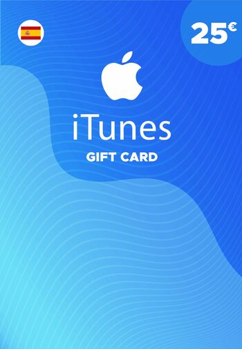 Apple iTunes Gift Card 25 EUR iTunes Key SPAIN