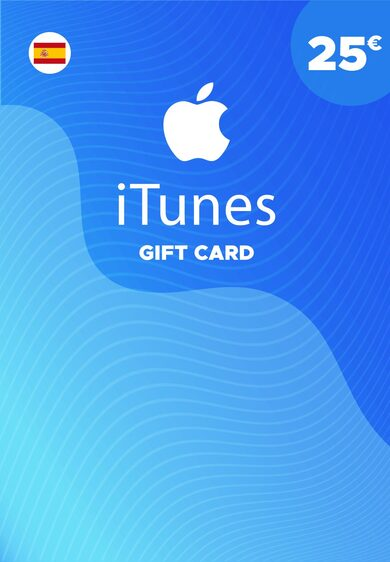 Apple iTunes Gift Card 25 EUR iTunes Key SPAIN фото