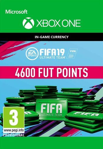 FIFA 19 - 4600 FUT Points (Xbox One) Xbox Live Key GLOBAL