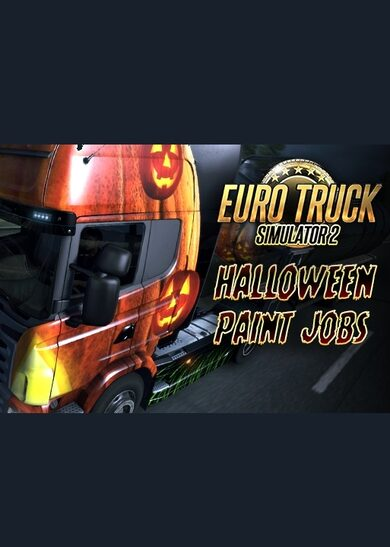 Euro Truck Simulator 2 - Halloween Paint Jobs Pack (DLC) Steam Key GLOBAL