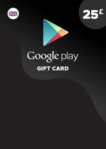 Google Play Gift Card 25 GBP (UK) Key UNITED KINGDOM