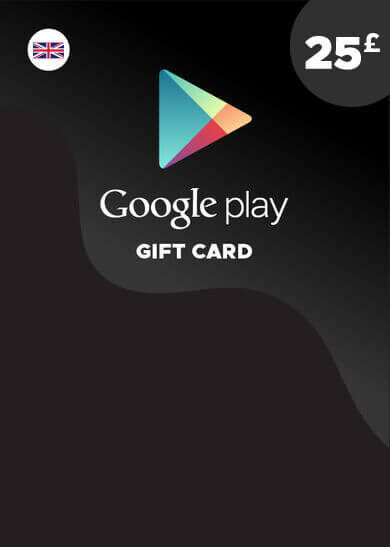 Google Play Gift Card 25 GBP Key UNITED KINGDOM