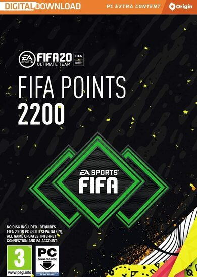 FIFA 20 - 2200 FUT Points Origin clé GLOBAL