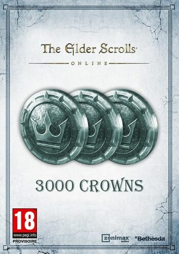 The Elder Scrolls Online: Tamriel Unlimited 3000 Crown Pack Key GLOBAL