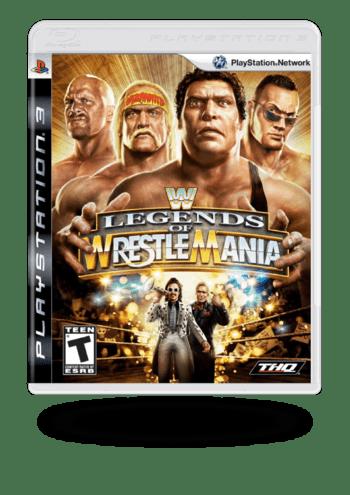WWE Legends of WrestleMania PlayStation 3