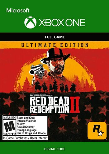 Red Dead Redemption 2 - Ultimate Edition (Xbox One) Código de Xbox Live GLOBAL