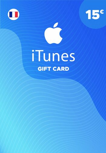 Apple iTunes Gift Card 15 EUR iTunes Key FRANCE