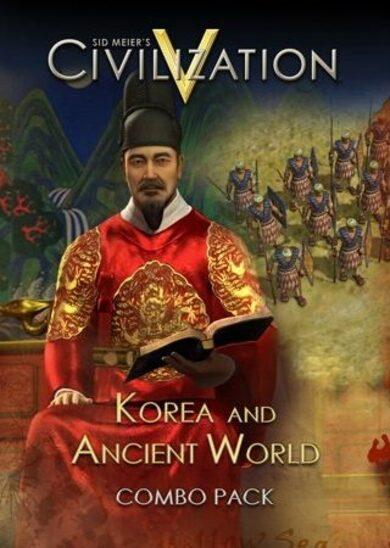 Sid Meier's Civilization V - Korea and Ancient World Combo Pack (DLC) Steam Key EUROPE