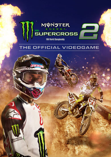 Monster Energy Supercross: The Official Videogame 2 Steam Key GLOBAL