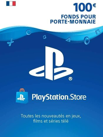 Carte PlayStation Network 100 EUR (FR) Carte PSN FRANCE