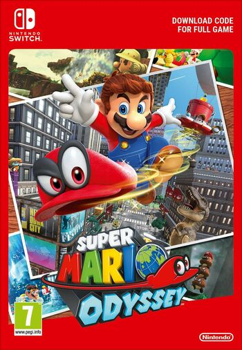 Super Mario Odyssey (Nintendo Switch) clé eShop EUROPE