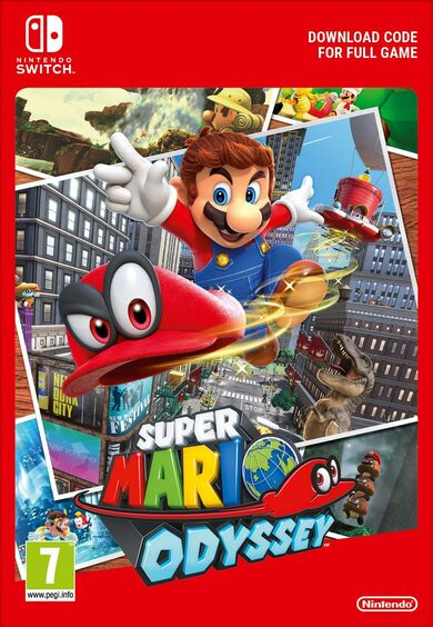 Super Mario Odyssey (Nintendo Switch) eShop Key NORTH AMERICA