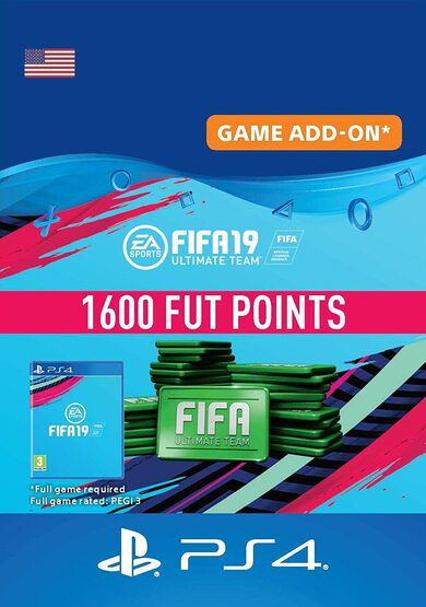 FIFA 19 - 1600 FUT Points (PS4) PSN Key UNITED STATES