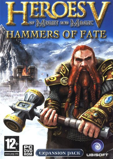Heroes of Might & Magic V: Hammers of Fate Uplay Key GLOBAL