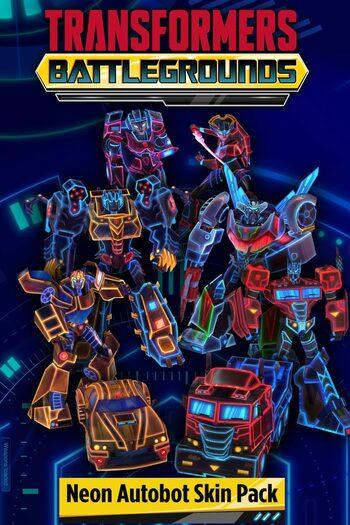 TRANSFORMERS: BATTLEGROUNDS - Neon Autobot Skin Pack (DLC) Steam Key GLOBAL