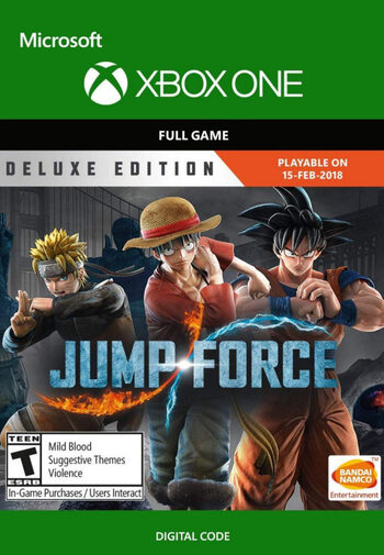 Jump Force - Deluxe Edition XBOX LIVE Key UNITED STATES