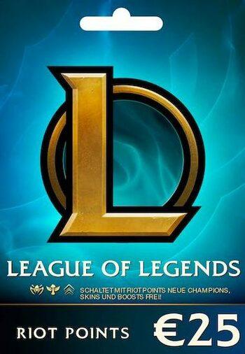 League of Legends Gift Card 25€ - EU WEST Server Only