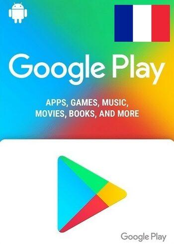 Carte cadeau Google Play 5 EUR (FR) Clé FRANCE