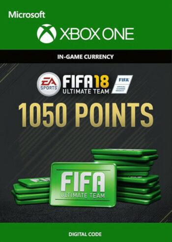 Fifa 18 - 1050 FUT Points (Xbox One) Xbox Live Key GLOBAL