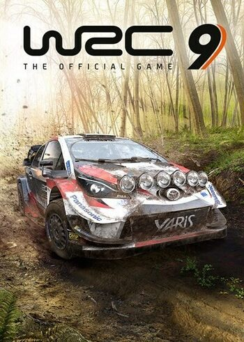 WRC 9: FIA World Rally Championship Epic Games Key EUROPE