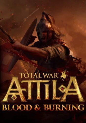 Total War: Attila - Blood & Burning (DLC) Steam Key GLOBAL
