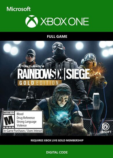 Tom Clancy's Rainbow Six: Siege - Gold Edition Year 4 (Xbox One) Xbox Live Key GLOBAL