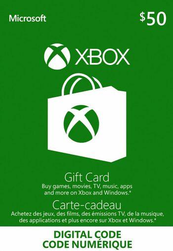 Xbox Live Gift Card 50 CAD Xbox Live Key CANADA