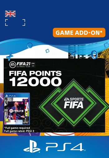 FIFA 21 -  12000 FUT Points (PS4) PSN Key UNITED KINGDOM