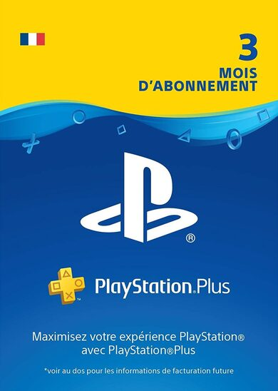 Abonnement PlayStation Plus 90 jours (FR) PSN FRANCE