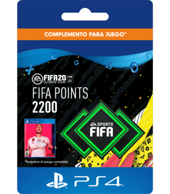 FIFA 20 - 2200 FUT Points (PS4) PSN Key CHILE