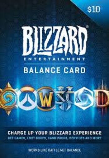 Battle.net Gift Card 10 USD Battle.net Key NORTH AMERICA